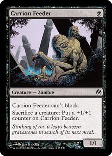 《屍肉喰らい/Carrion Feeder》[PvC] 黒C