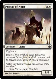 《ノーンの僧侶/Priests of Norn》[MBS] 白C