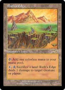 《ラースの果て/Rath's Edge》[NEM] 土地R