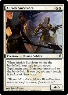 《オーリオックの生き残り/Auriok Survivors》[NPH] 白U