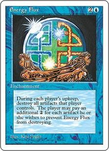 《魔力流出/Energy Flux》[4ED] 青U