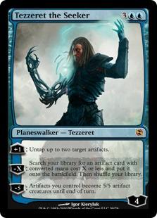 《求道者テゼレット/Tezzeret the Seeker》[EvT] 青R
