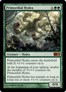 《始源のハイドラ/Primordial Hydra》[M12] 緑R