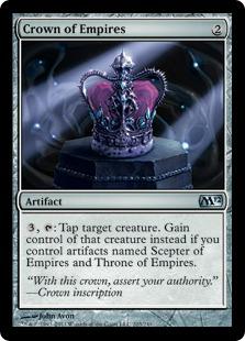 【Foil】《帝国の王冠/Crown of Empires》[M12] 茶U