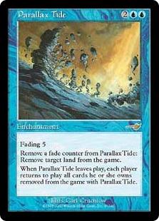 《パララクスの潮流/Parallax Tide》[NEM] 青R