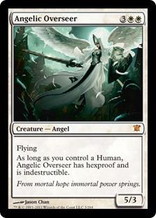 《天使の監視者/Angelic Overseer》[ISD] 白R