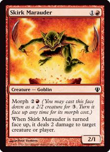 《スカークの匪賊/Skirk Marauder》[ARC] 赤C