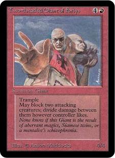 《Two-Headed Giant of Foriys》[LEA] 赤R