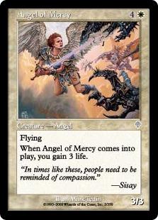 《慈悲の天使/Angel of Mercy》[INV] 白U