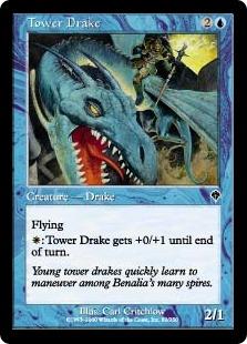 《塔のドレイク/Tower Drake》[INV] 青C