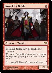 《流城の貴族/Stromkirk Noble》[ISD] 赤R