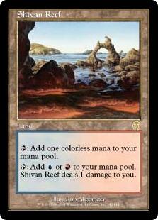 《シヴの浅瀬/Shivan Reef》[APC] 土地R