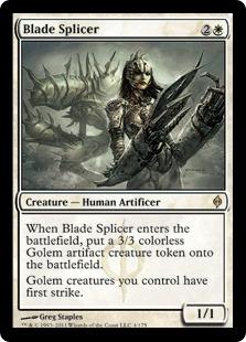《刃の接合者/Blade Splicer》[NPH] 白R