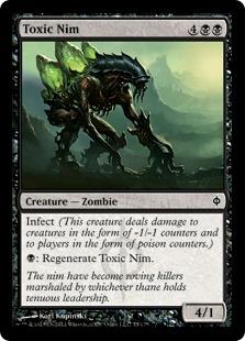 《毒の屍賊/Toxic Nim》[NPH] 黒C