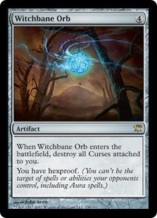 《魔女封じの宝珠/Witchbane Orb》[ISD] 茶R