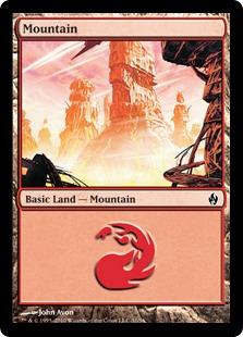 【Foil】《山/Mountain》(31)[FAL] 土地