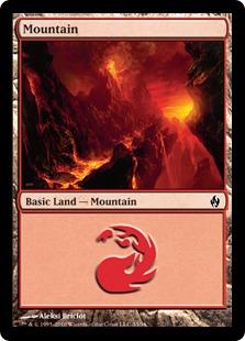 【Foil】《山/Mountain》(33)[FAL] 土地