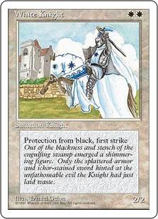 《白騎士/White Knight》[4ED] 白U