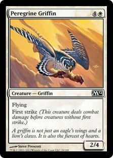 《流浪のグリフィン/Peregrine Griffin》[M12] 白C