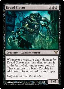 《戦慄の奴隷商人/Dread Slaver》[AVR] 黒R