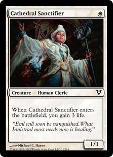 《大聖堂の聖別者/Cathedral Sanctifier》[AVR] 白C