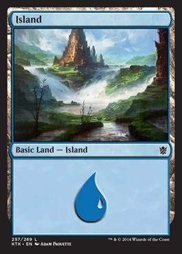 《島/Island》(257)[KTK] 土地