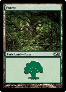 《森/Forest》(247)[M12] 土地