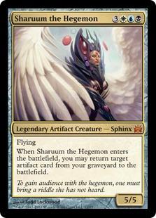 【Foil】《覇者シャルム/Sharuum the Hegemon》[FtV:Legends] 金