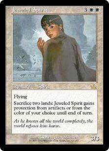 《宝飾のスピリット/Jeweled Spirit》[PCY] 白R