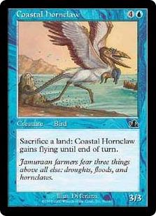 《沿岸の角爪鳥/Coastal Hornclaw》[PCY] 青C