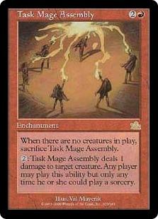 《一芸魔道師の集会/Task Mage Assembly》[PCY] 赤R