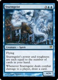 《嵐霊/Sturmgeist》[ISD] 青R