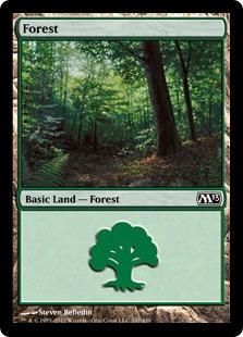 《森/Forest》(247)[M13] 土地