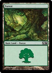 《森/Forest》(249)[M13] 土地