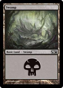 《沼/Swamp》(240)[M13] 土地