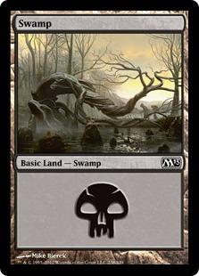 《沼/Swamp》(238)[M13] 土地