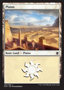 《平地/Plains》(252)[KTK] 土地