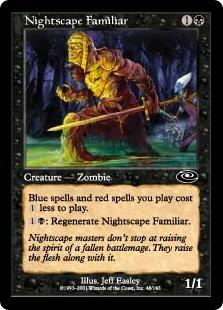 《夜景学院の使い魔/Nightscape Familiar》[PLS] 黒C