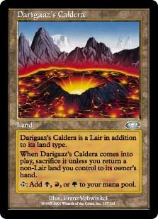 《デアリガズのカルデラ/Darigaaz's Caldera》[PLS] 土地U