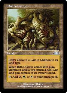 《リースの木立ち/Rith's Grove》[PLS] 土地U