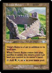 《トリーヴァの廃墟/Treva's Ruins》[PLS] 土地U
