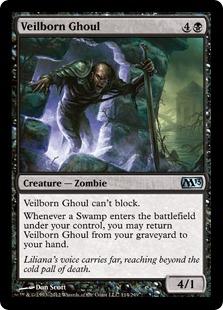 《ヴェール生まれのグール/Veilborn Ghoul》[M13] 黒U