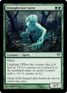 《絡み根の霊/Strangleroot Geist》[DKA] 緑U