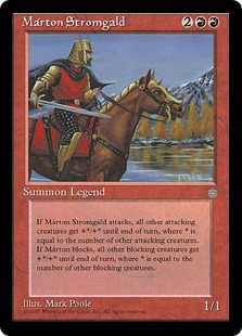 《Marton Stromgald》[ICE] 赤R