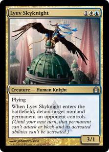 《リーヴの空騎士/Lyev Skyknight》[RTR] 金U
