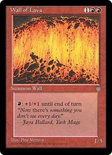 Wall of Lava