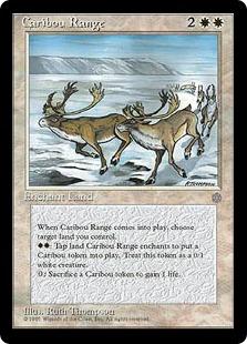 《カリブー放牧場/Caribou Range》[ICE] 白R