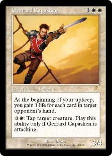 《ジェラード・キャパシェン/Gerrard Capashen》[APC] 白R
