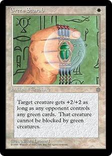《Green Scarab》[ICE] 白U