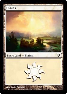 《平地/Plains》(230)[AVR] 土地